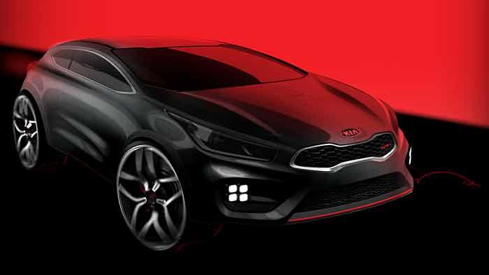 Der Kia Pro_Ceed GT kommt in der zweiten Jahreshälfte 2013 auf den europäischen Markt.