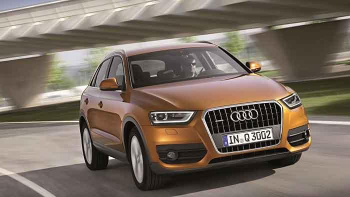 Der Audi Q3 mit EU5-Dieselmotoren ist auch betroffen.