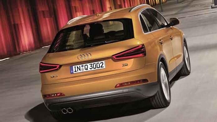Der Audi Q3 war besonders in China beliebt.