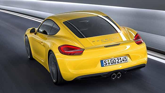 Der Porsche Cayman kommt am 2. März 2013 auf den Markt.