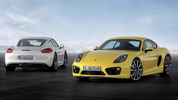 Neuer Porsche Cayman leichter und effizienter
