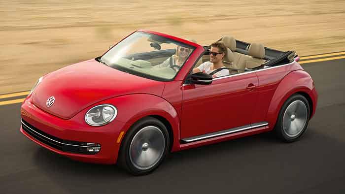 Das VW Beetle Cabrio wird im Februar 2013 in Europa eingeführt.