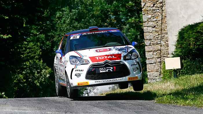 Citroen bringt den DS3 als Einstiegsvariante für den Rallyesport.