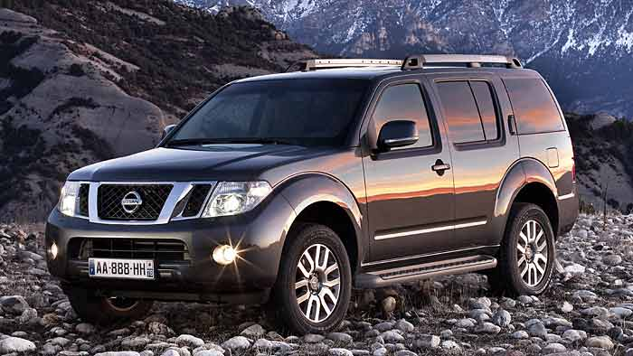 Der Nissan Pathfinder passt sich allen Gegebenheiten an.