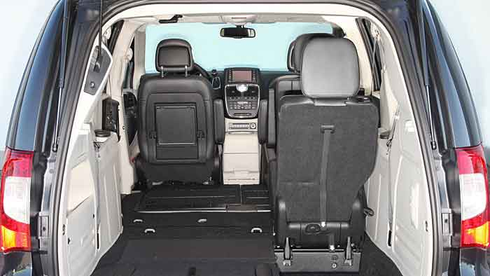 Der Lancia Voyager ist vom Platzangebot konkurrenzlos in seiner Klasse.
