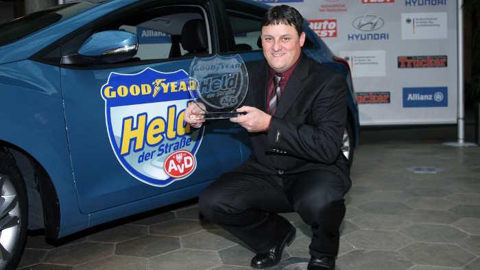 Brummi-Fahrer Appelmann ist «Held der Straße 2012»