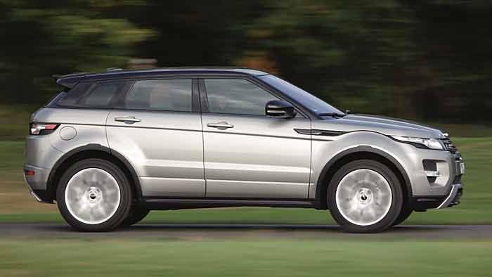 Neun Gänge für den Range Rover Evoque