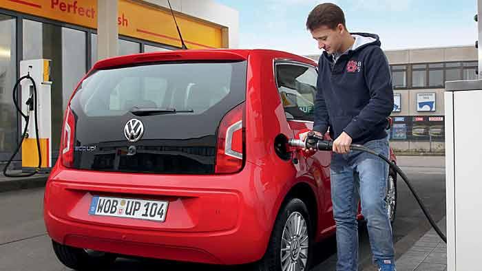 Erdgasfahrzeuge mit sattem Zulassungs-Plus