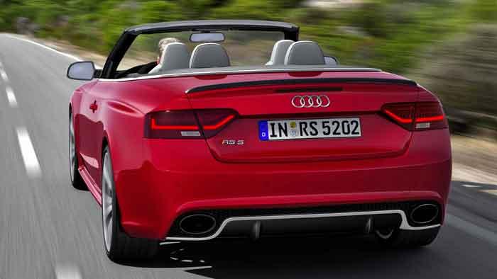 Das Audi RS 5 Cabrio kostet mindestens 88.500 Euro.