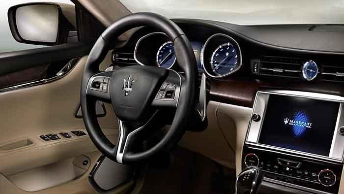Der Maserati Quattroporte ist die schnellste Serien-Limousine der Welt.