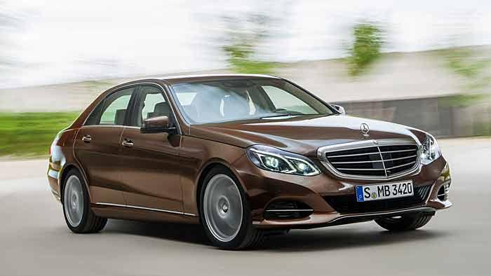 Die E-Klasse von Mercedes erhielt ein umfangreiches Facelift.