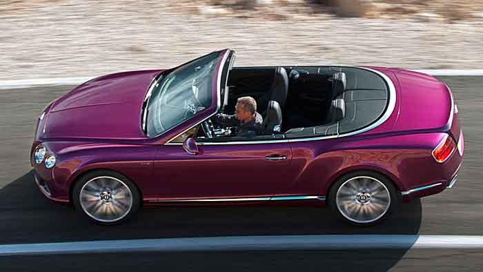 Die Preise für das Bentley-Continental GT Speed Cabrio stehen noch nicht fest.