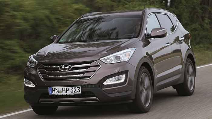 Der Hyundai Santa Fe ist schicker als die Vorgänger ausgefallen.