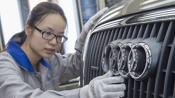In China läuft es für Audi derzeit nicht erfolgreich.
