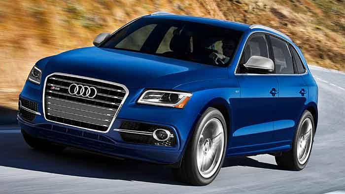 Der Audi SQ5 als Benziner ist speziell für außereuropäische Märkte vorgesehen.