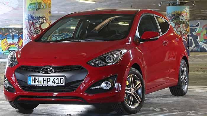 Hyundai erweitert die i30-Baureihe mit dem dreitürigen Coupé.