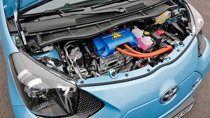 Der Elektromotor des Toyota iQ EV