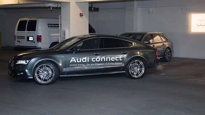 Audi erhält Lizenz zum autonomen Fahren