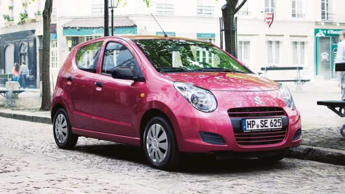 Neuer Suzuki Alto wird sparsamer