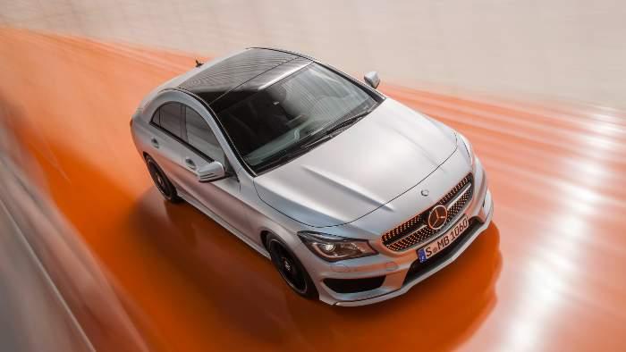 Der neue Mercedes CLA.