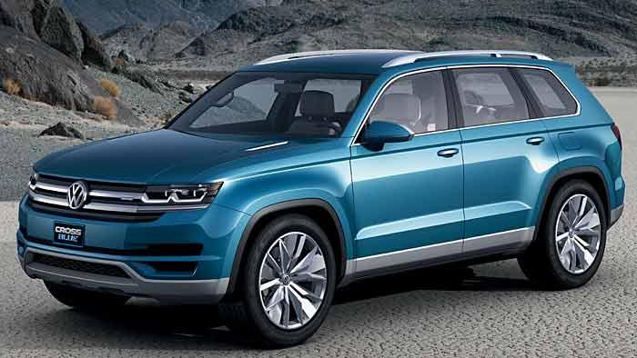 Bei der Studie VW CrossBlue arbeitet ein Diesel-Plugin-Hybrid