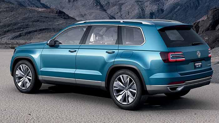Die VW-Studie CrossBlue wird von einem Diesel-Plugin-Hybrid angetrieben.