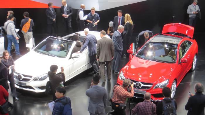 Mercedes E-Klasse: Die mit den zwei Gesichtern