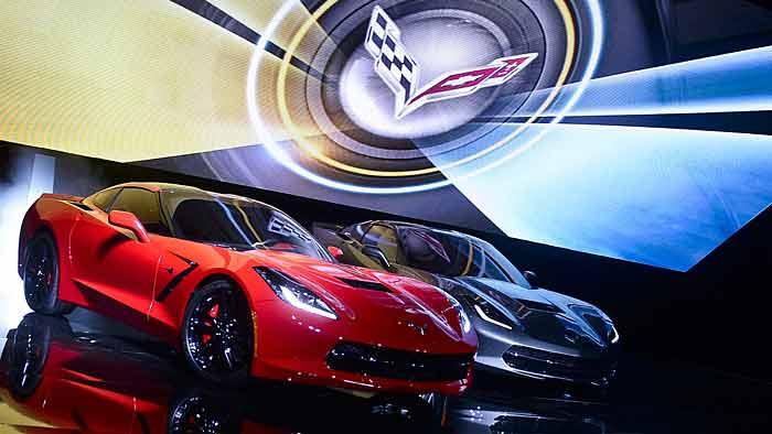 Die siebte Generation der Chevrolet Corvette trägt wieder den Namen Stingray.