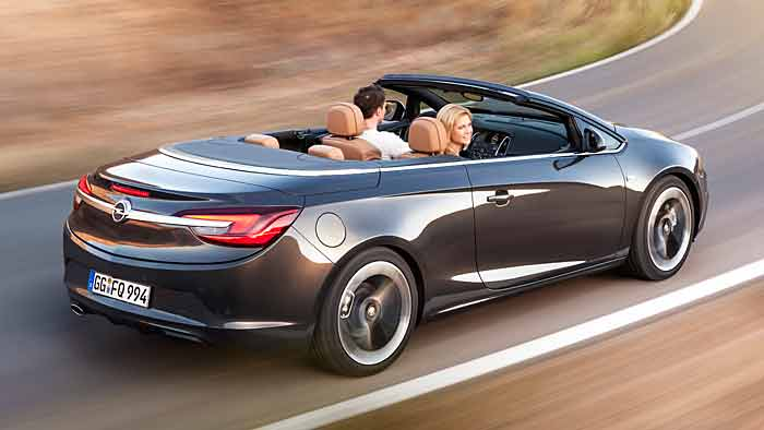 Aufwärts mit dem Opel Cascada