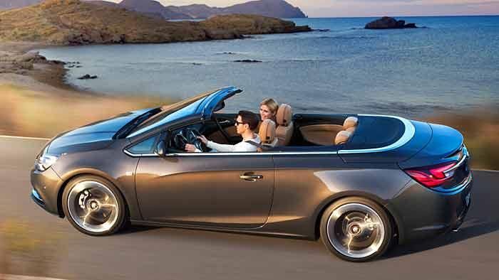 Der Opel Cascada kommt im April in den Handel.