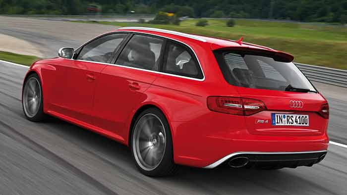 Der Audi RS 4 Avant giert nach Drehzahlen.
