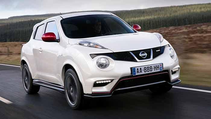 Der Nissan Juke Nismo stellt den Auftakt der sportlichen Baureihe dar.