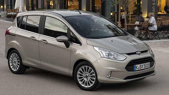 Der Ford B-Max punktet nicht nur wegen des innovativen Türkonzeptes.