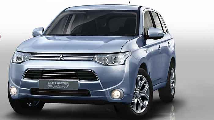 Der Mitsubishi Outlander PHEV wird ab Juli in Deutschland angeboten.