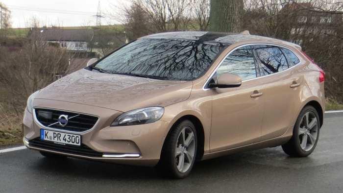 Der Volvo V40 bietet gutre Fahrleistungen.