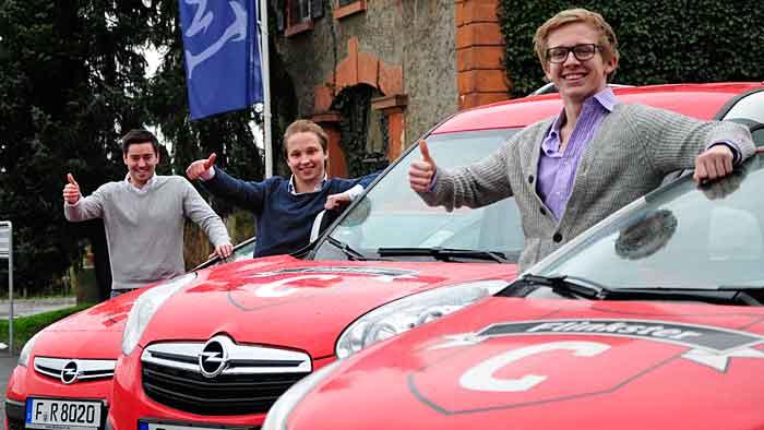 Flinkster und Opel starten ein Carsharing-Programm speziell für Studierende.