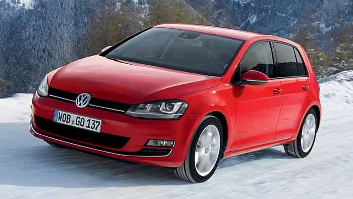 Der VW Golf 4Motion gibt Sicherheit auf unwegsamen Terrain.