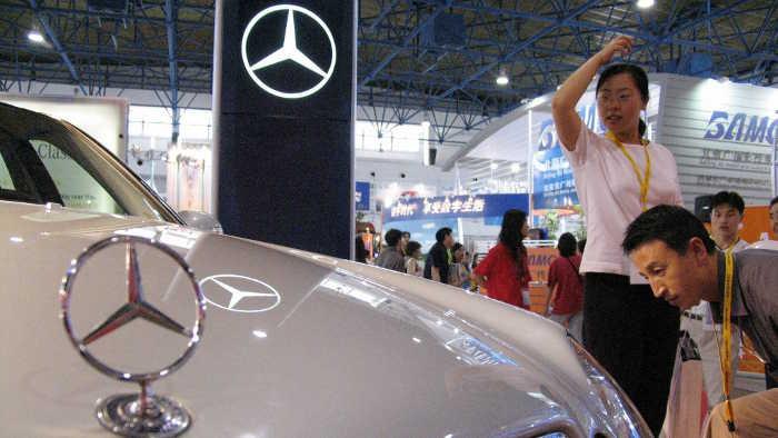 Daimler holt Ex-BMW-Manager für China-Vertrieb