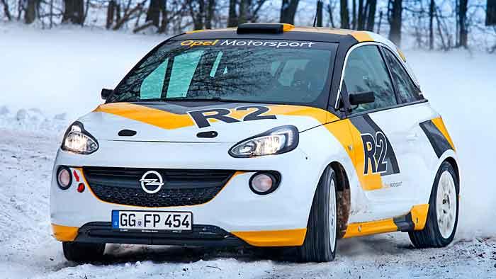 Der Opel Adam R2 feiert Premiere in Genf.