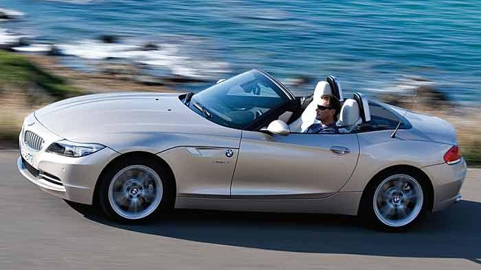 Gebrauchter BMW Z4 bleibt trocken