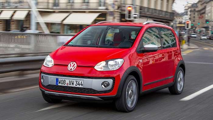 VW Up kommt als Cross-Modell