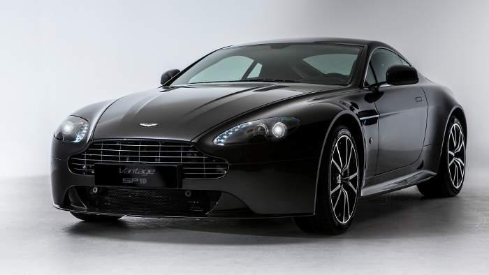 Sondermodell vom Aston Martin Vantage