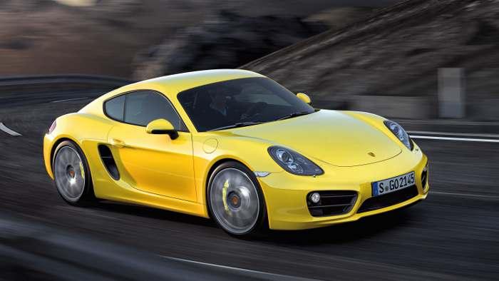 Der neue Porsche Cayman.