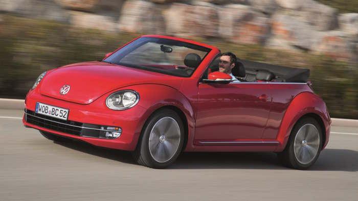 Fahrbericht VW Beetle Cabrio: Warten auf den Frühling