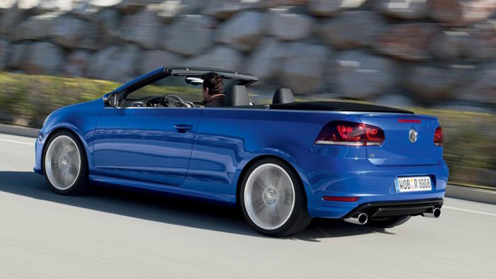 VW Golf Cabrio R