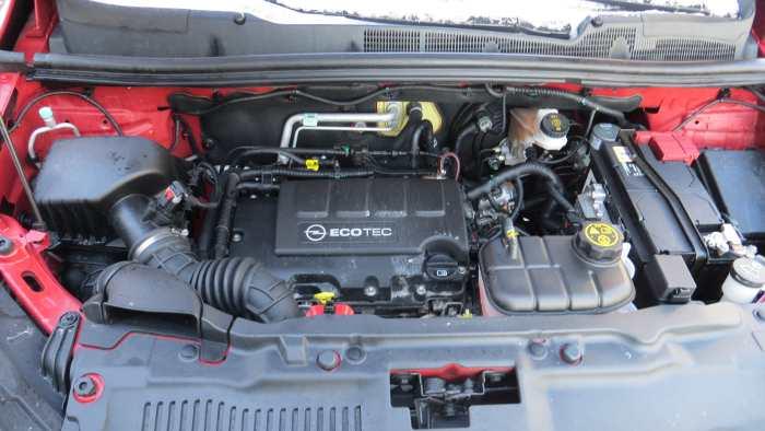 Der 1.4er Turbo-Motor im Opel Mokka.