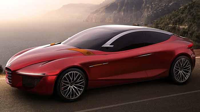 Alfa Romeo Gloria IED Concept: Schöne Fingerübung