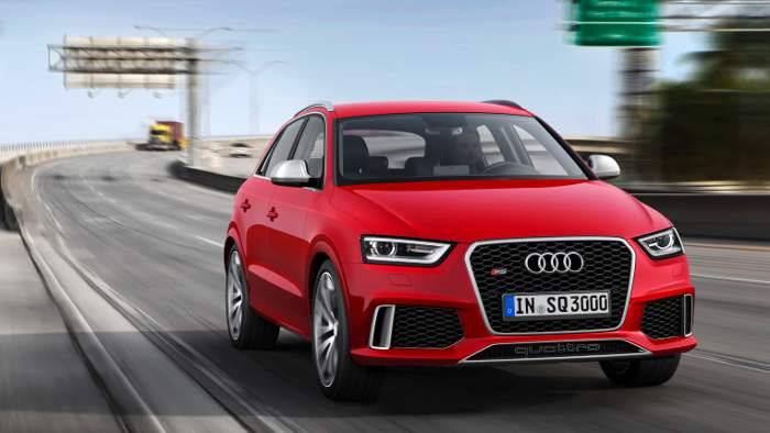 Der Audi RS Q3 kommt im Herbst auf den Markt.