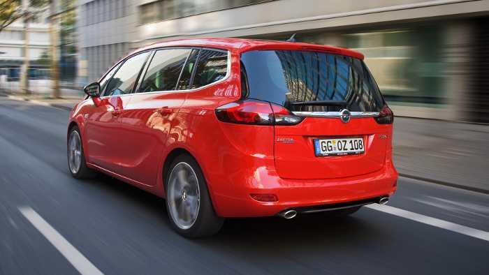 Der Opel Zafira Tourer befindet sich im Mittelpunkt des Streits