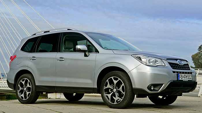 Auch der Subaru Forester ist vom Rückruf betroffen.